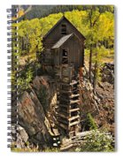 Crystal Mill 6 Spiral Notebook