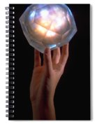 Crystal Power Spiral Notebook