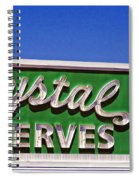 Crystal Preserves New Orleans Spiral Notebook