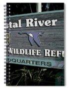 Crystal River Spiral Notebook