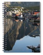 Crystal Waters At Reine Village Spiral Notebook