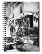 Cuba Fruit Vendor C1910 Spiral Notebook