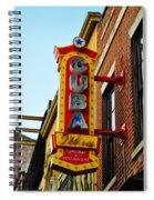 Cuba Libre Spiral Notebook