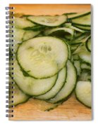 Cucumbers Spiral Notebook