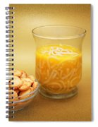 Cup O Soup And Oyster Crackers Spiral Notebook