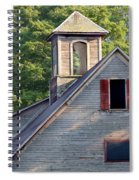 Cupola In Light Spiral Notebook