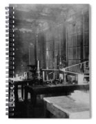 Curie Laboratory Spiral Notebook