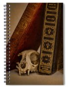 Curiosity Killed The Cat Spiral Notebook
