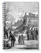 Curling, 1853 Spiral Notebook