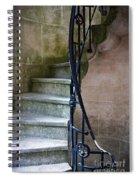 Curly Stairway Spiral Notebook