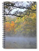 Current River Fall 44r Spiral Notebook