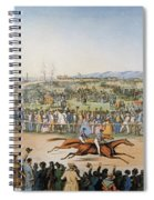 Currier & Ives: Racing, 1845 Spiral Notebook