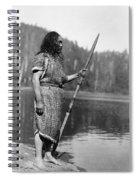 Curtis: Nootka Man, C1910 Spiral Notebook