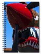 Curtiss P-40n-5 Kittyhawk Spiral Notebook