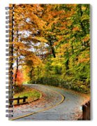 Curve In The Road Spiral Notebook