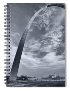 Curved Arch Spiral Notebook