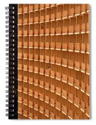 Curved Balconies Spiral Notebook