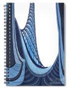 Curves - Archifou 42 Spiral Notebook