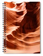 Curves In The Canyon Spiral Notebook