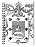 Cusco: Coat Of Arms Spiral Notebook