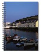 Cushendun Harbour, Co Antrim, Ireland Spiral Notebook