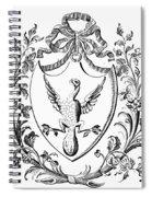 Custis: Coat Of Arms Spiral Notebook