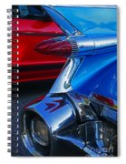 Custom Fins Spiral Notebook