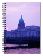 Custom House, Dublin, Co Dublin, Ireland Spiral Notebook
