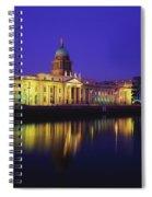 Custom House, Dublin, Co Dublin Spiral Notebook