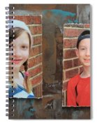 Custom Photo Portrait Group Spiral Notebook