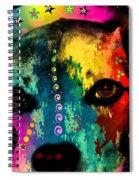 Cute Dog  Spiral Notebook
