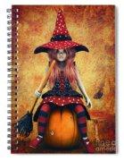Cutest Little Witch Spiral Notebook