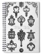 Cuvilli�s: Locks And Keys Spiral Notebook
