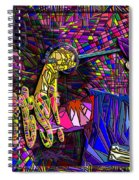Cyrano Bring Me Giants Spiral Notebook