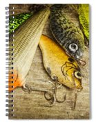Dad's Fishing Crankbaits Spiral Notebook