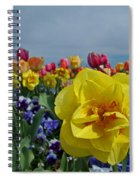 Daffodil Up Front Spiral Notebook