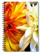 Dahlia Days Spiral Notebook