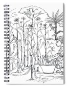 Daily Life In South And Center Cameroon 01 Spiral Notebook