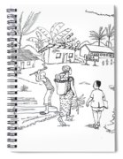 Daily Life In South And Center Cameroon 02 Spiral Notebook