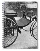 Daimler Automobile, 1889 Spiral Notebook