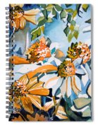 Daisy Carnival Spiral Notebook