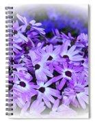 Daisy Garden Vignette Spiral Notebook