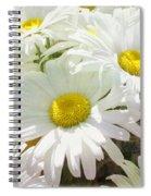 Daisy Summer Garden Spiral Notebook