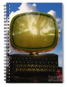 Dali.s Surreal Steampunk Personal Computer With Upgrades Spiral Notebook