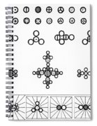 Daltons Symbols Spiral Notebook