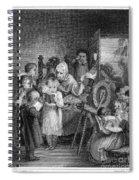 Dames School, 1812 Spiral Notebook