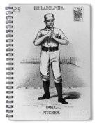 Dan Casey (1862-1943) Spiral Notebook