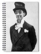 Dan Leno (1860-1904) Spiral Notebook
