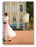 Dance At Saint Catherine Palace Spiral Notebook