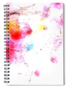 Dance Of Colors Spiral Notebook